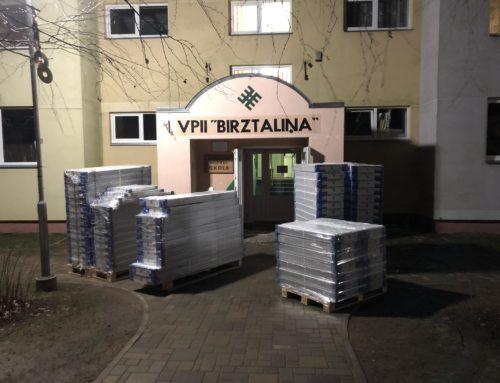 Apkures sistēmas nomaiņas darbi Birzgalē.